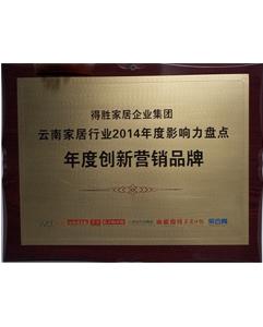 2014年年度创新营销品牌